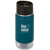 Klean Kanteen Insulated Wide Café Bootle 12oz (355 ml) Matte Finish Neptune Blue